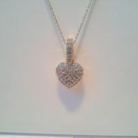 Heart pendent