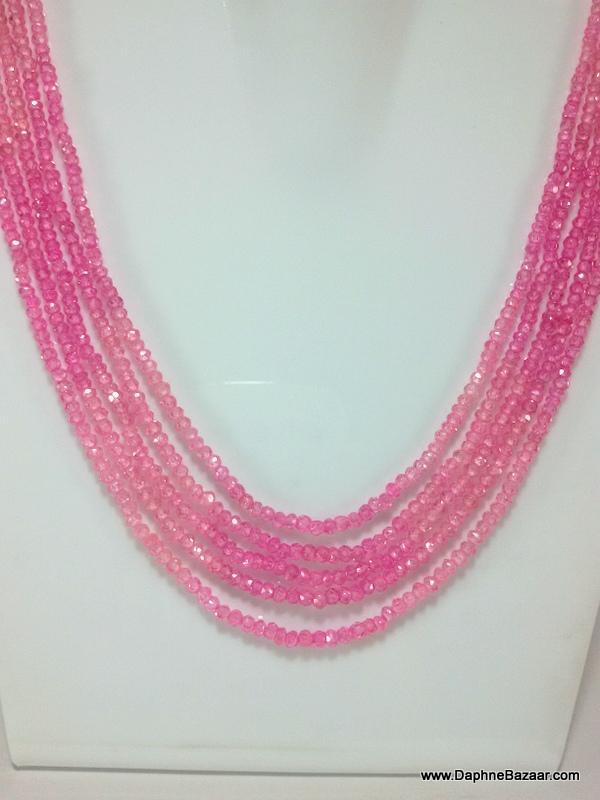 Pink Cubic Zircon