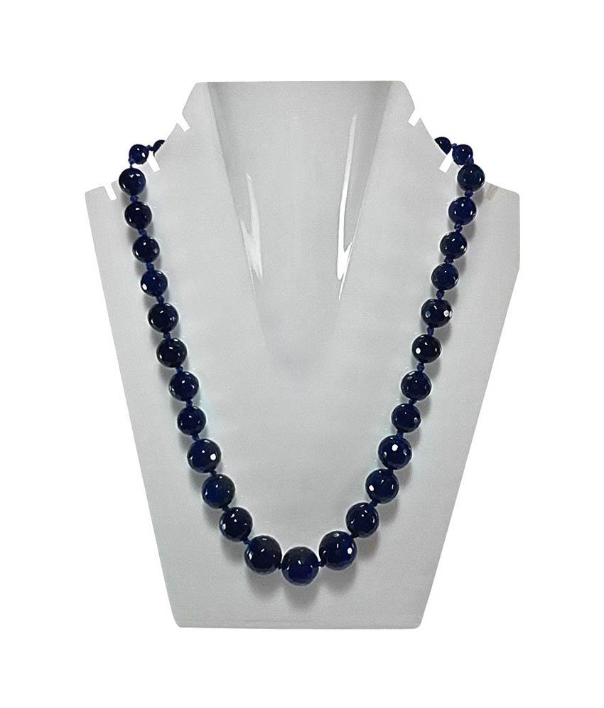 Daphne Bazaar Navy Blue Neckpiece
