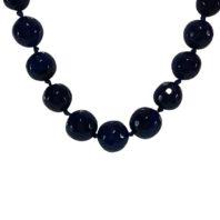 Onyx Jewelry: Daphne Bazaar Navy Blue Neckpiece