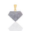 Daphne Bazaar Daimond Shapped Pendant