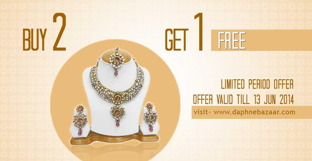 Daphne Bazaar Buy2 Get 1 Free