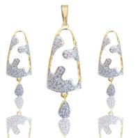 Daphne Bazaar Church Bell Pendant and Earrings