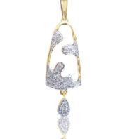 Daphne Bazaar Church Bell Pendant