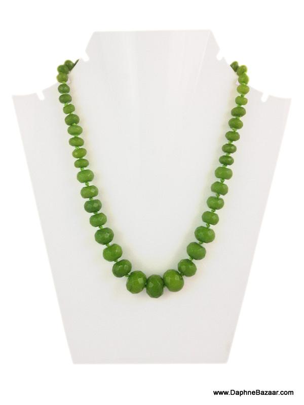Daphne Bazaar Mehndi Green Oval Onyx