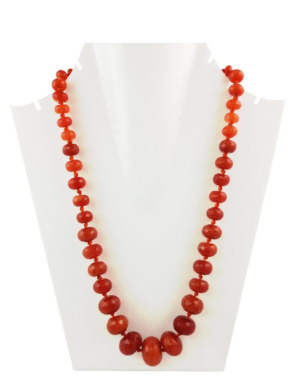 Daphne Bazaar Orange Oval Onyx
