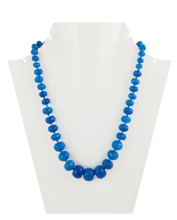 Daphne Bazaar True Blue Oval Onyx