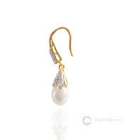 American Diamond Pearl Hanging Side look