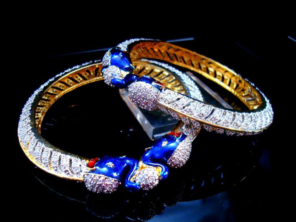 Daphne Designer Dynasty Elephant Bangles for Women