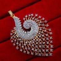Daphne Designer Zircon Pendant and Earrings for Women, For Anniversary Gift