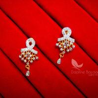 Z24, Daphne Zircon Pendant and Earrings for Women - EARRINGS
