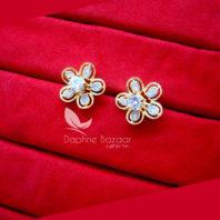 CE33 Daphne Six in One Changeable AD Earrings for Women – ZIRCON