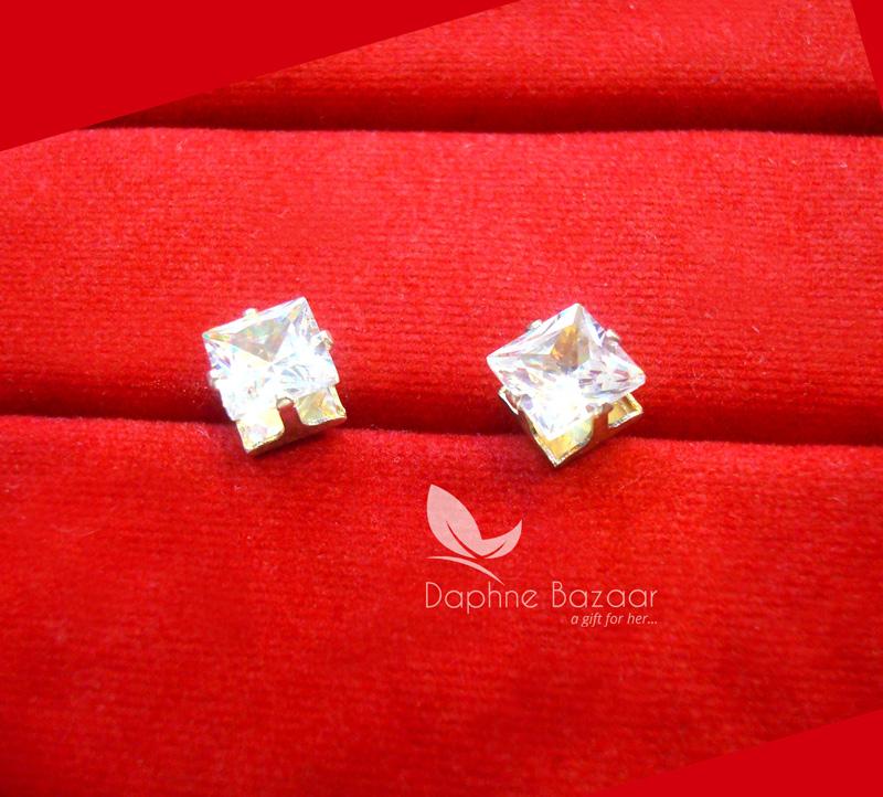 E83L, Daphne Premium Zircon Earrings for Women