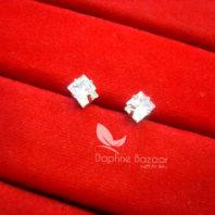 E85S, Daphne Premium Zircon Earrings for Women