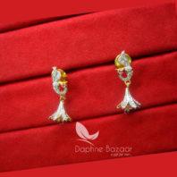 E93, Cute Tiny Peackcok Premium Zircon Earrings for Women
