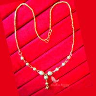 T63, Daphne Handmade Golden Beads Chain for Women