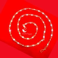 T64, Daphne Handmade Golden Zircon Chain for Women