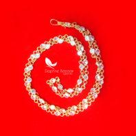 T64, Daphne Handmade Golden Zircon Chain for Women - VIEW 2