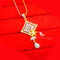 PE83P, Daphne Premium Quality Zircon Pendant Gift for Wife