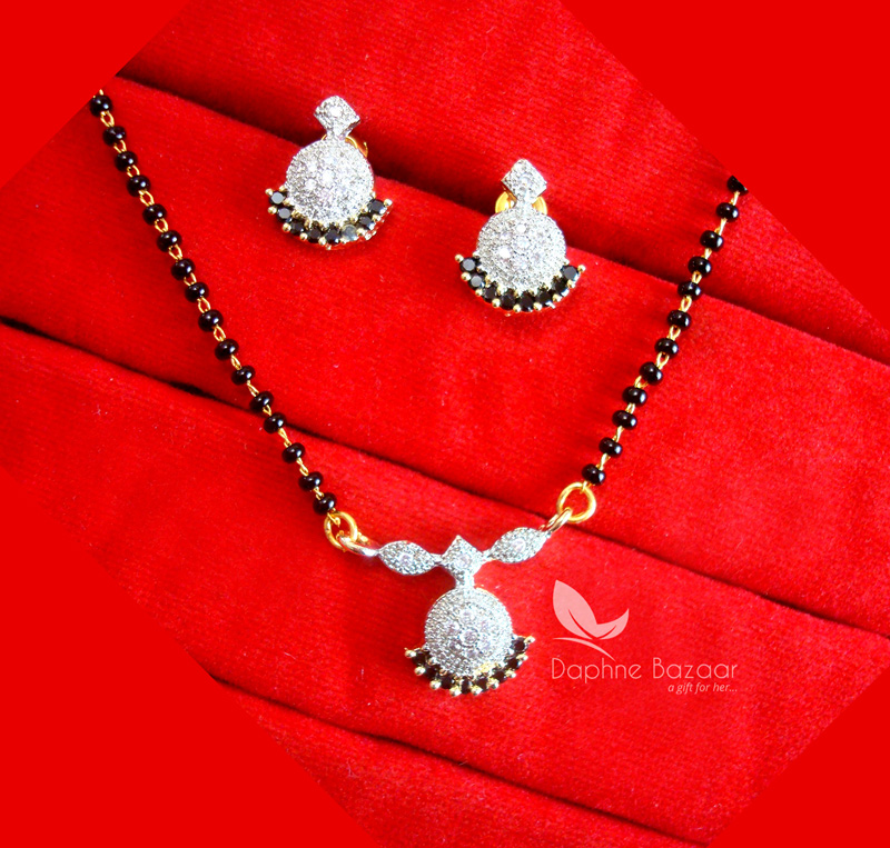 T65, Daphne Cute Tiny Mangalsutra For Women, Valentine Gift For Wife