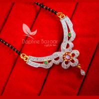 S88, Daphne Zircon Flower Mangalsutra for Women, Best Diwali Gift For Women