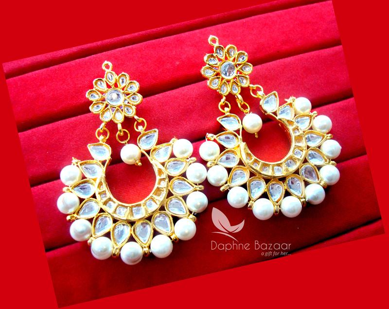 Daphne Handmade Kundan Earrings for women