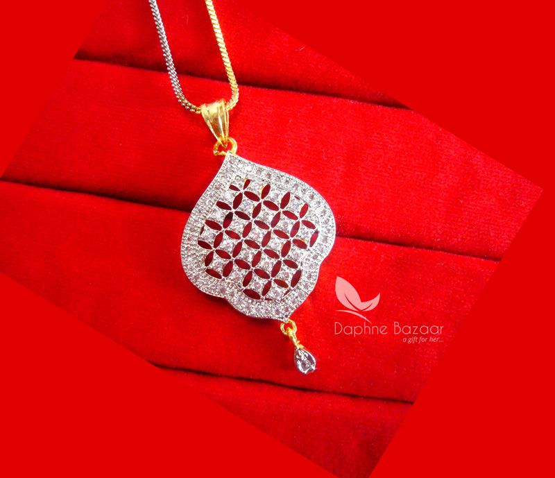 Z56 daphne silvery zircon designer pendant earring gift for wife z56p daphne silvery zircon designer pendant set birthday gift for beautiful wife mozeypictures Gallery